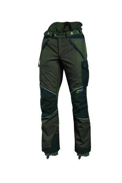Hose Für Arbeit PSS X-Treme Arbeit Grün Größe 50